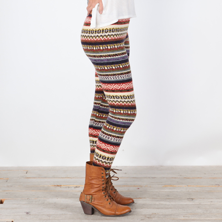 Womens Sweater Leggings - Trendy Clothes