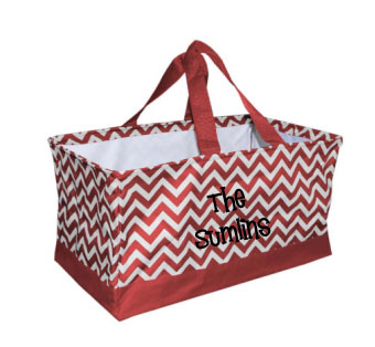 Aggie-Maroon-Chevron-Personalized-Tailgate-Bag-Utility-Crunch-Bin-with-Monogram